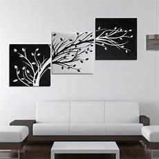 tableau deco blanc tempsa 3pcs tableau peinture 224 l huile arbre toile