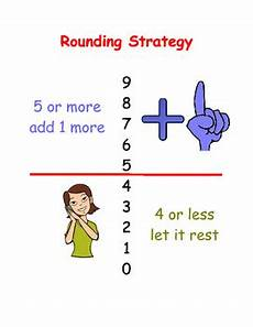 compensation estimation worksheets 8186 math rounding strategy poster by s resource room tpt