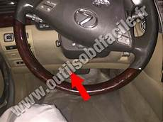 on board diagnostic system 2003 lexus ls seat position control obd2 connector location in lexus ls 460 2006 2017 outils obd facile