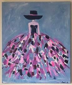 modele de tableau moderne tableau moderne femme robe color 233 e tableau multicolore etsy