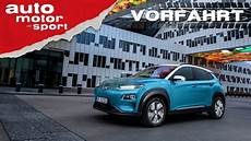 Hyundai Kona Elektro 2018 Das E Auto F 252 R Alle Vorfahrt