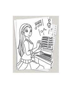 Malvorlagen Zum Nachmalen Musik Musik Ausmalbilder Kostenlose Malvorlagen F 252 R