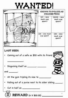 australian money worksheets higher order thinking hots grade 3 and 4 maths resources