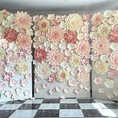 planning a wedding or any other special event paper flower backdrop is always a fantastic idea