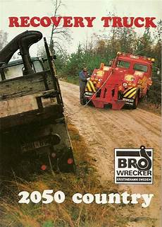 tow truck brochure bro wrecker type 2050 country recovery tb548 ebay