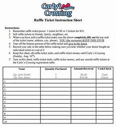 raffle sheet template 9 raffle sheet template word pdf free premium