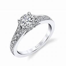 vintage engagement rings sylvie collection