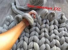Tuto Couverture Tricot Avec Les Mains Knit Blanket