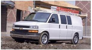 2003 Chevrolet Express  Specifications Car Specs Auto123
