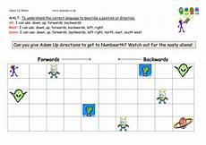 directions worksheets ks1 11570 position and direction differented activity by jamessummerfield teaching resources