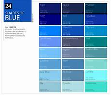blue shades color chart shades of blue color palette including dark blue and light blue
