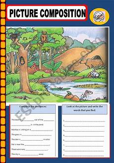 picture composition worksheets for grade 1 22851 picture composition esl worksheet by jhansi