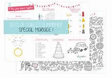 Set De Table Pour Les Enfants 224 Un Mariage Momes Net