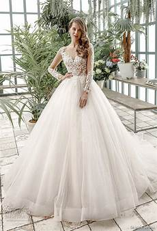princess aline sleeved open back wedding dresses almette semida sposa 2020 wedding dresses bridal