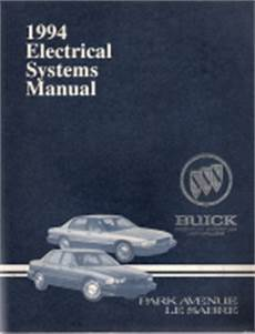 car repair manual download 1993 buick park avenue regenerative braking 1994 buick park avenue lesabre electrical systems manual