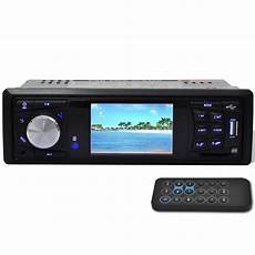 Car Stereo 1 Din Mp3 Mp5 Fm Radio Media Player With 3 Inch