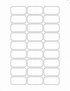 white glossy labels 1 8 x 0 9 quot rectangle k 10