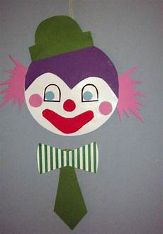 clown malvorlagen ausdrucken selber machen bastelvorlage clown aus tonpapier selber basteln
