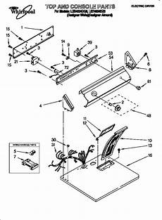 whirlpool dryers parts ler4634dq0 sears partsdirect