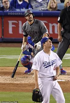 pollock s two homers lift diamondbacks to win over dodgers daily mail online