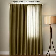 Black Out Drapes by Eclipse Microfiber Blackout Beige Grommet Curtain Panel