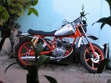 Gl 125 Modif by Modif Trail Honda Gl 125 Oto Trendz