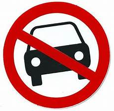 interdiction voiture sticker autocollant plastifi 233 panneau interdiction interdit voitures 216 10 cm ebay