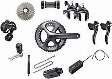 buy shimano ultegra 6870 di2 11 speed groupset at tredz bikes 163 999 99 with free uk delivery