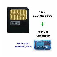 16mb sm memory card smart media card with all in one usb2