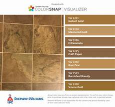i found these colors with colorsnap 174 visualizer for iphone by sherwin williams gallant gold sw
