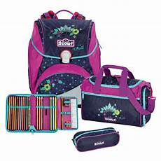 scout alpha schulranzen set 4tlg cool princess ordeo de