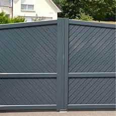 Portail Haut De Gamme 224 Remplissage Aluminium Portail