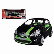 ebay auto köln motormax 73382 ford ka black green 1 24 diecast car model for sale ebay