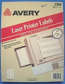 k447f genuine 56x30 1680 avery 5160 white address labels laser printer 1 quot x2 625 quot 72782051600 ebay