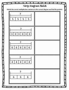 multiplication worksheets 4284 diagram match multiplication diagram teaching multiplication math manipulatives