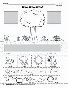 what plants need worksheets grade 13590 w o r k s h e e t 2