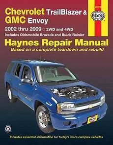 auto repair manual online 2002 gmc sierra 3500 engine control 2002 2009 chevy trailblazer gmc envoy olds bravada haynes repair manual 296 view more on