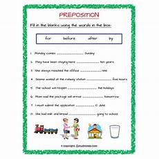 preposition of time worksheets for grade 2 3521 prepsition of time fill in the blanks worksheet 1 grade 3 estudynotes