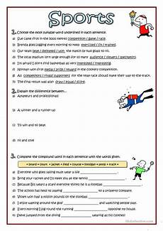 sports vocabulary worksheet free esl printable worksheets made by teachers