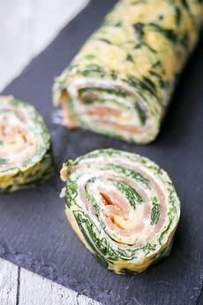 low carb spinat lachs rolle rezept essen und trinken