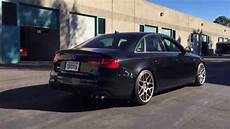 2014 b8 5 audi s4 6sp mt with awe touring exhaust and non resonated downpipes youtube