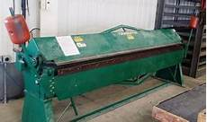 used tennsmith 1018 floor brake used sheet metal