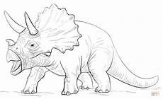 dinosaurio triceratops coloring dinosaurios para
