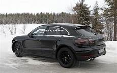 nouveau macan 2019 spied porsche begins testing facelifted 2019 macan suv