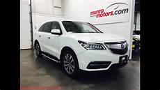 2014 acura mdx platinum white nav pkg sh awd sold munro motors 7 passenger sunroof munro motors