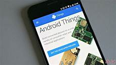 android console launches android things console developer preview