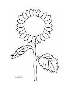 Malvorlagen Herbst Einfach Sonnenblume Einfach Malvorlage Einfach Herbst