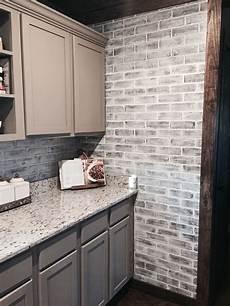 Kitchen Paneling Backsplash Lowes Brick Panels Painted White Brick Backsplash Paint