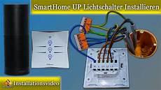 Wlan Lichtschalter Unterputz - smarthome unterputz lichtschalter installieren anleitung