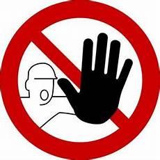 stop betreten verboten digitaldruck aufkleber schild